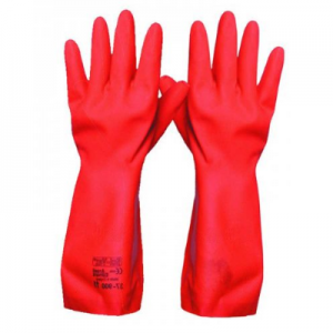 Gauntlet gloves red