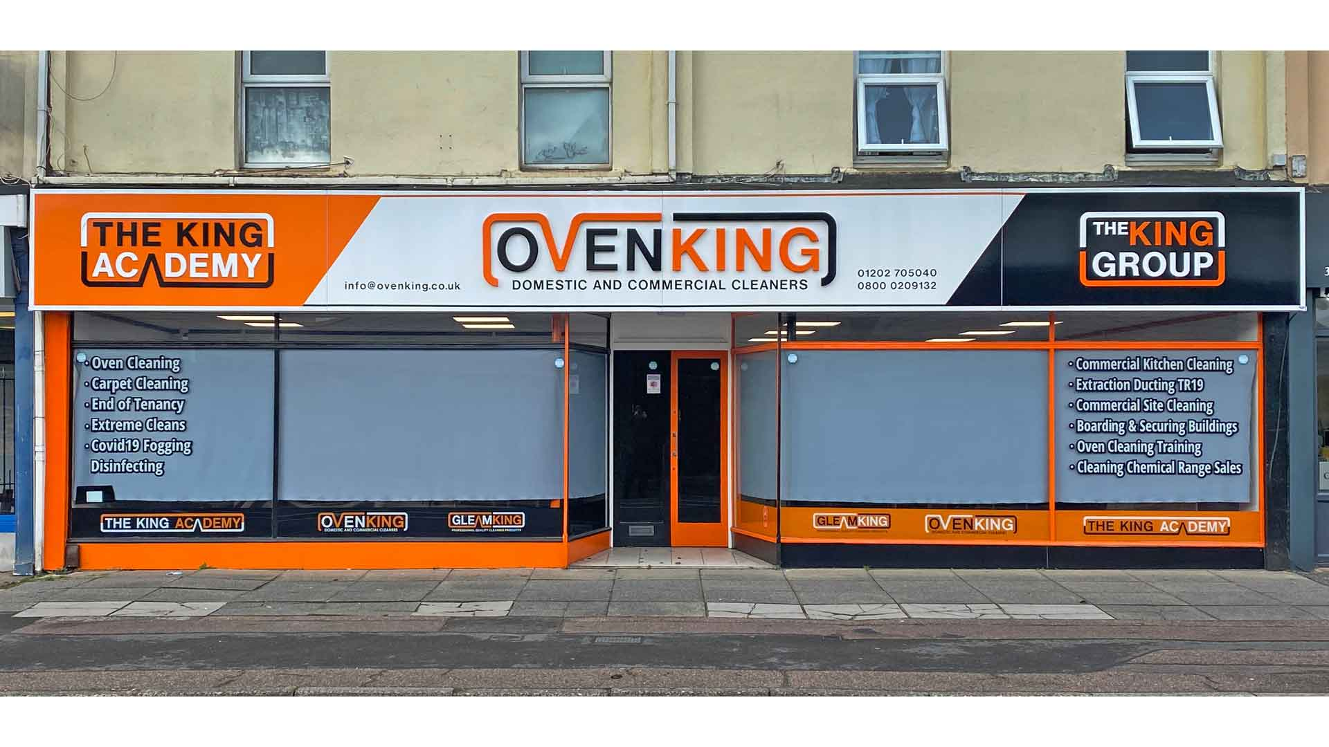 OvenKing GleamKing Shop Bournemouth