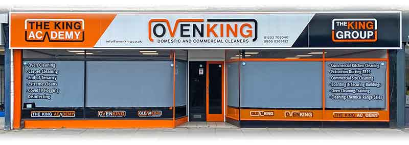 Visit our GleamKing Chemical Cleaning Sales Shop in Bournemouth